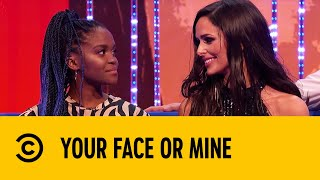 Katherine Ryan Takes On A Cheryl Lookalike | Your Face Or Mine