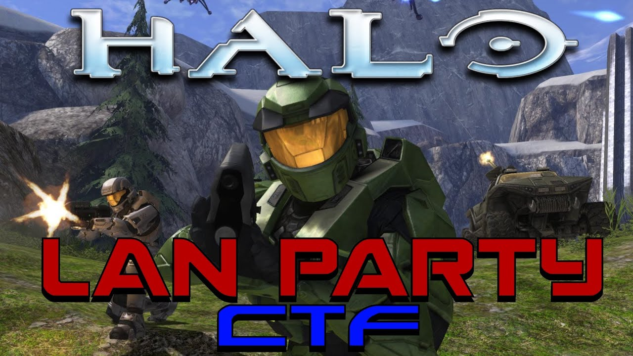 LAN Party: Halo 1 Capture The Flag - NODE - Smashpipe Games Video