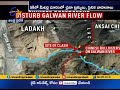 Chinese bring in Bulldozers, disturb flow of Galwan river, satellite pics