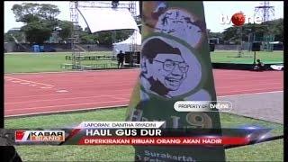 Haul ke-9 Gus Dur Akan Digelar di Stadion Sriwedari, Solo