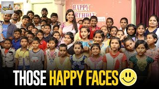 Anchor Syamala Spends Her Quality Time With Orphans..
