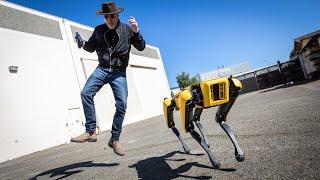 How Boston Dynamics' Spot Robot Works!