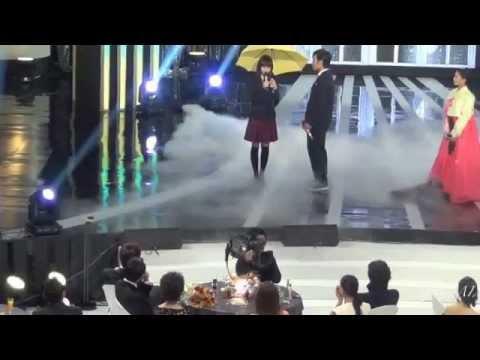 2012 MBC演技大賞-楽しそうなJJ&YC