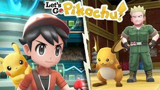EASILY MASTER THE KANTO GYM LEADERS for Pokemon Let's Go Pikachu Eevee