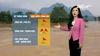 VTC14 | Thời tiết tổng hợp 26/11/2017|Rét đậm, rét hại chỉ còn ở tỉnh trung du và vùng núi phía Bắc