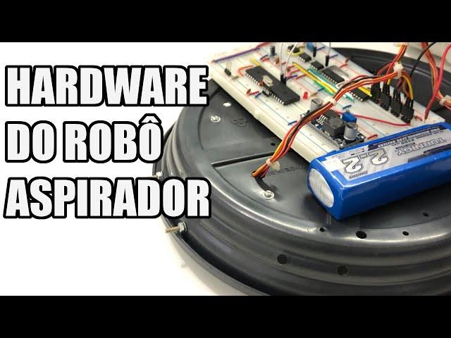 O HARDWARE DO ROBÔ ASPIRADOR! | Usina Robots US-3 #036