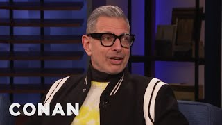 Jeff Goldblum Is Thinking About His Mortality - CONAN on TBS