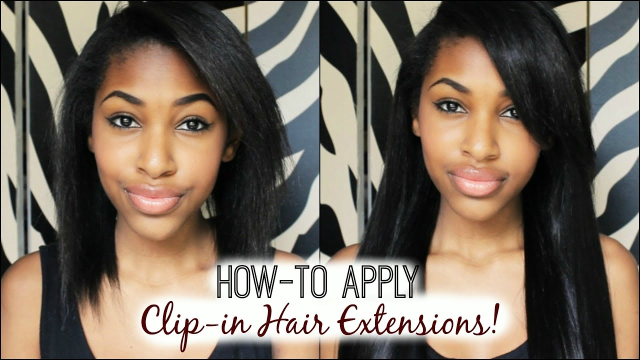 clip in hair extensions styles how to apply clip in hair extensions 8208