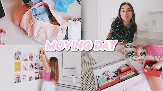 MOVING DAY VLOG! (pack with me + last day in my old house)