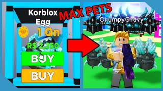I Bought the NEW Korblox Egg and Got This! - Roblox Magnet Simulator