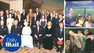 Prince Philip: Sweet moments between the Duke of Edinburgh and his grandchildren