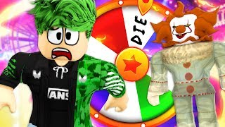 /spinning the wheel of doom roblox circus story