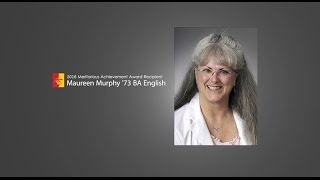 'Maureen Murphy - 2016 Meritorious Achievement Award Recipient