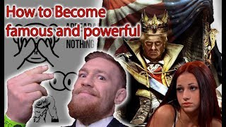How to become famous and powerful(6 ways to court attention)-law 6