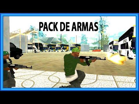 MTA SA   PACK DE ARMAS COM BANDOLEIRA E SOM REALISTA #shorts