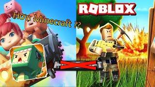 2 Tựa Game Đang Chiếm Đoạt Minecraft Hiện Nay !! Roblox Và Mini World ?!