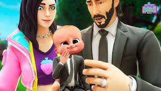 ROX AND JOHN WICK PREPARE TO HAVE A BABY | Fortnite Short Film
