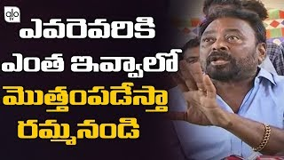 Maruthi Rao brother Sravan Kumar sensational comments on A..