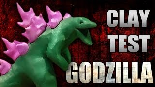 Friendly Competition   Godzilla Claymation   Godzilla 2000 v. Godzilla 2014