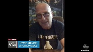 Howie Mandel Discusses How Being a Germaphobe Has Aided in Pandemic | The View