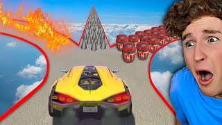 IMPOSSIBLE Decision Race In GTA 5.. (Mods)