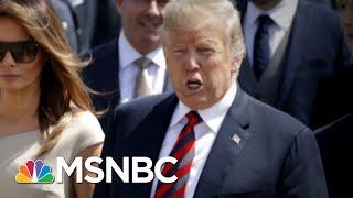 President Donald Trump Drives Bulldozer 'Straight Through' Brexit Plan | Morning Joe | MSNBC
