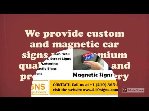 Magnetic Car Signs | 219 Signs