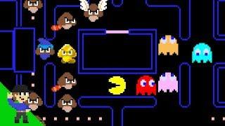 The Goomba Revolution Ep. 1 - Goombas invade Pac-Man!