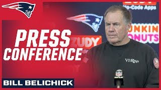 Bill Belichick on Salute to Service, Red Sox & win vs. Aaron Rodgers & the Packers