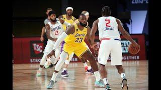 LeBron James Locked Up Kawhi Leonard & Paul George On The Last Play To Win Game