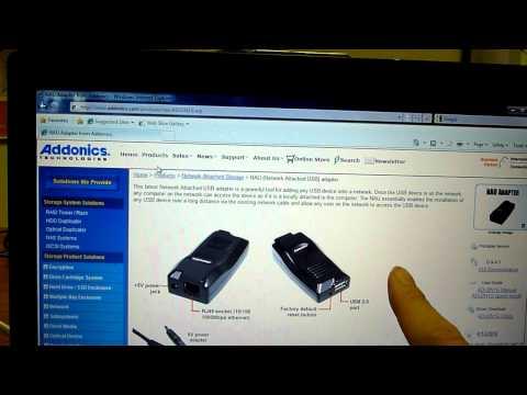 Addonics NAU adapter - Downloading Software (3 of 8)