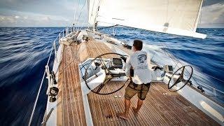 Atlantic crossing on Wally 100 Indio with VOR-sailors