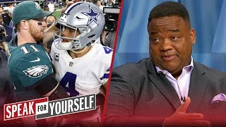 Dak's market value isn't like Wentz, Jones should call his contract bluff | NFL | SPEAK FOR YOURSELF