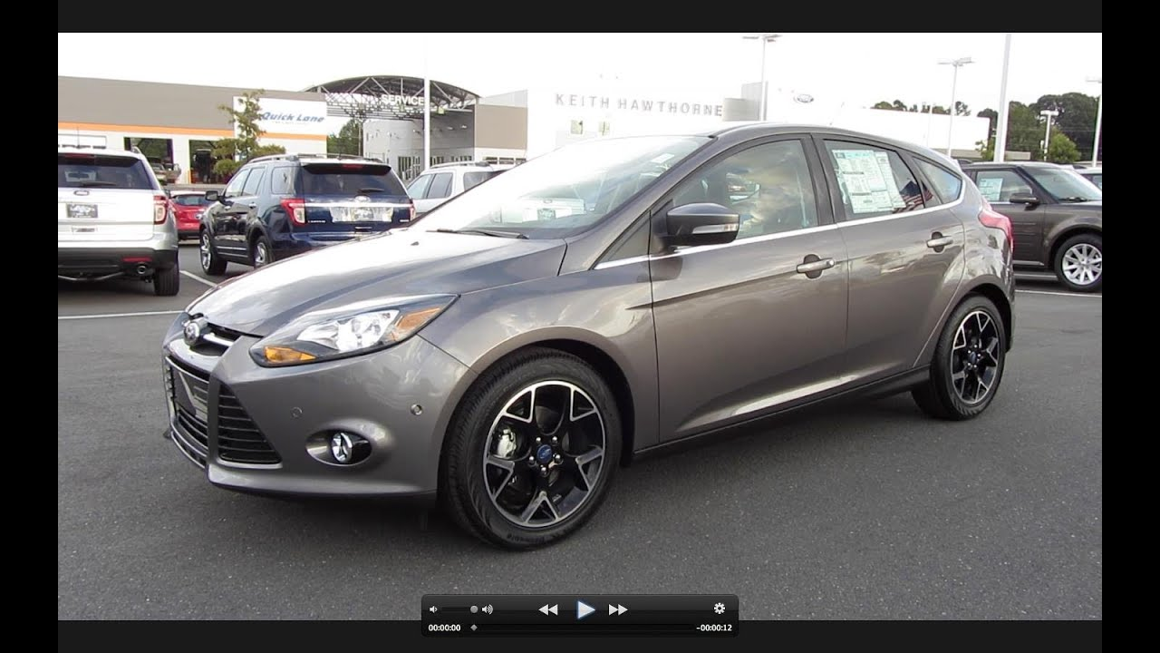 2012 ford focus titanium hatchback start up exhaust and in depth tour youtube. Black Bedroom Furniture Sets. Home Design Ideas