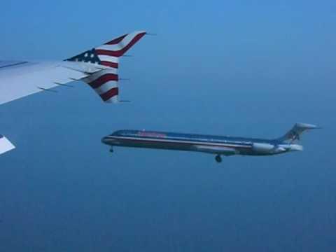Równoczesne lądowanie dwóch samolotów