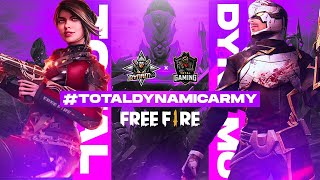 Free Fire Live New Event Total Gaming x Dynamo Gaming - Garena Free Fire