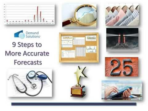 9 Steps to More Accurate Demand Forecasts   - Webinar Replay