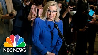 See Liz Cheney React After She Was Ousted From GOP Leadership