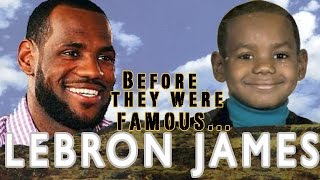 LEBRON JAMES | Before They Were Famous
