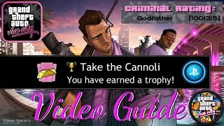 Vice City PS4 (Take the Cannoli Trophy) Video Roadmap