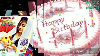Happy birthday to you maya ji
