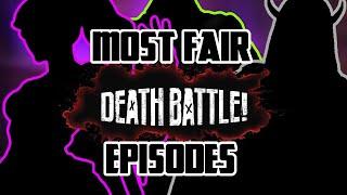 Top 10 CLOSEST Death Battles (by their own logic)