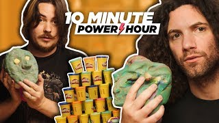 Sculpting Each Other w/ PLAY-DOH - 10 Minute Power Hour