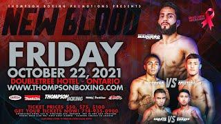 New Blood Oct 22, 2021 Fight Night