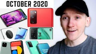 Top Upcoming Smartphones - October 2020!