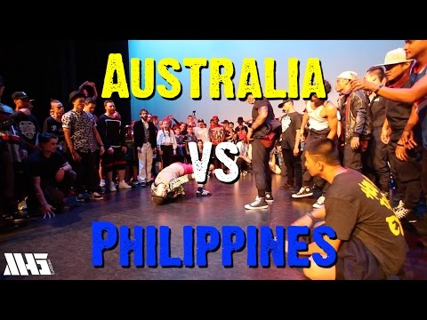 AUSTRALIA VS PHILIPPINES (Part 1) | WORLD SUPREMACY BATTLEGROUNDS 2015