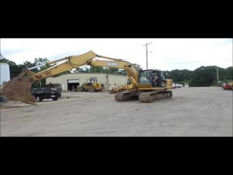 2005 John Deere 160C LC excavator for sale | no-reserve Internet auction August 25, 2016