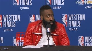 James Harden On Frustrating Losing To Warriors Again:Some Calls Are Not Clear!
