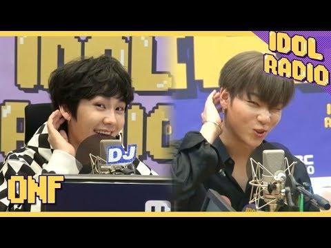 [IDOL RADIO]아이엠그라운드 자기소개 하기! ♪♬ (ONF ver.)