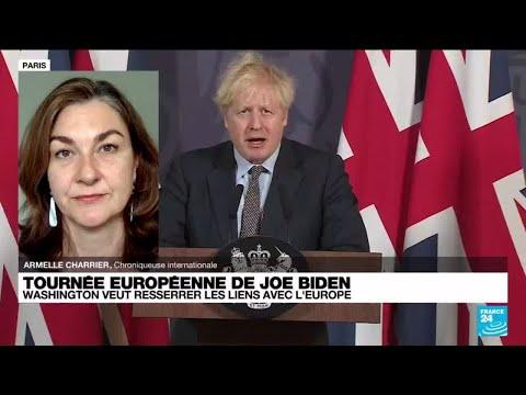Joe Biden en Europe : quels enjeux pour le Royaume-Uni de Boris Johnson ?